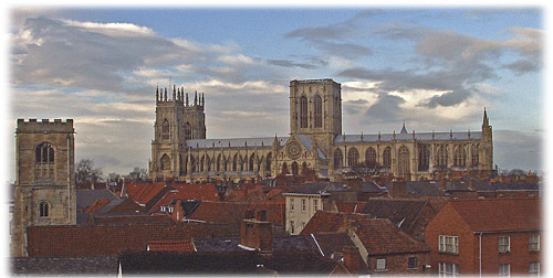 York and the Minster from M&S